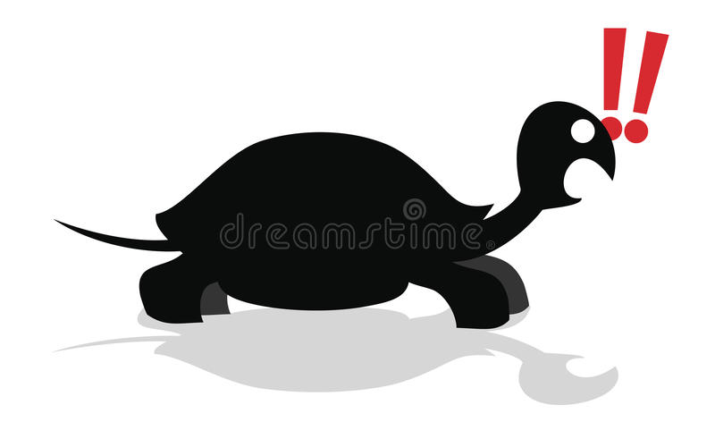 Download Amazing turtle stock vector. Image of illustration, creative - 25409777