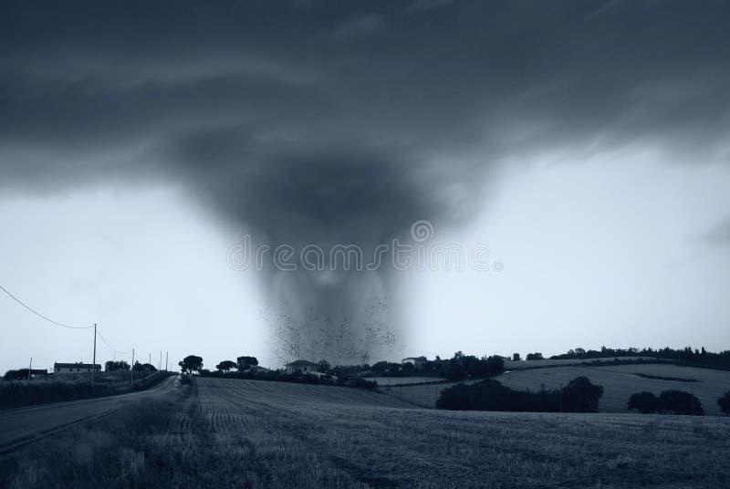 Amazing twister stock photography