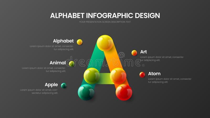 Creative bright multicolor character design illustration layout. Modern art A symbol graphics visualization template. stock illustration