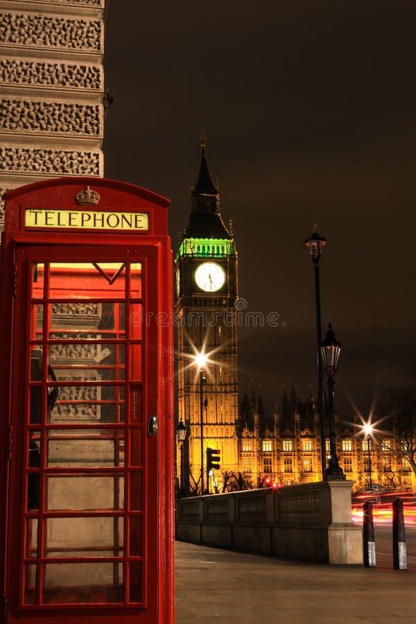 Amazing view of Big Ben at night. Wonderful view of Big Ben at night, London stock images