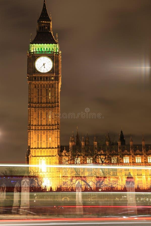 Amazing view of Big Ben at night. Wonderful view of Big Ben at night, London stock photos