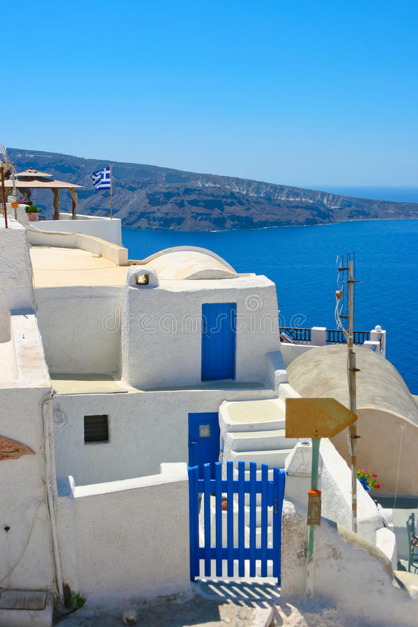 Download Amazing View Of Oia In Santorini Stock Image - Image: 18259281