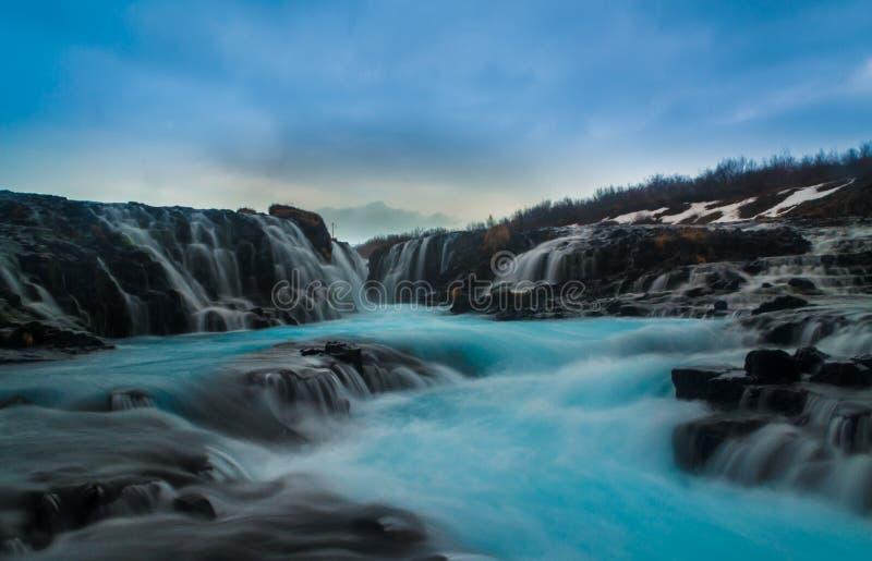 An amazing waterfall royalty free stock photo