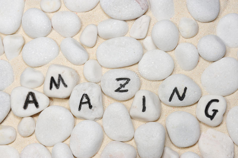 Download Amazing word stock photo. Image of cheerful, letters - 25962892