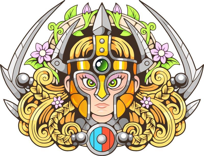 Amazon bonito, projeta o illustratio engraçado da imagem ilustração royalty free