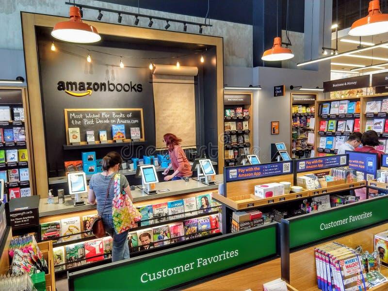 Amazon book store royalty free stock photo