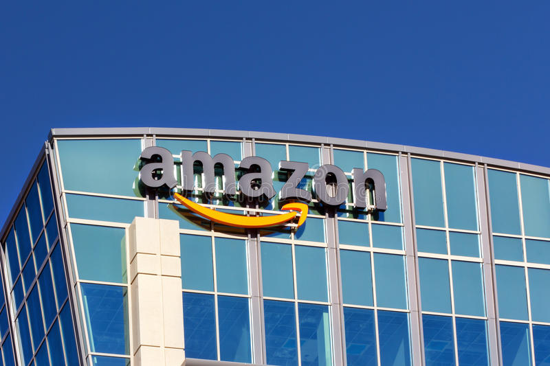 Amazon Building royalty free stock images