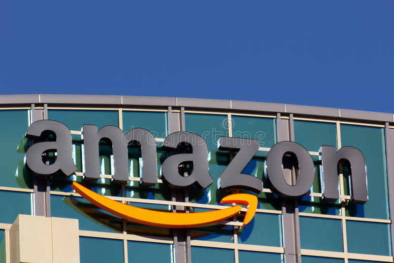 Amazon Building royalty free stock photos