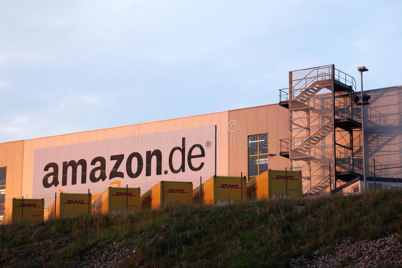 Amazon distribution center stock photo