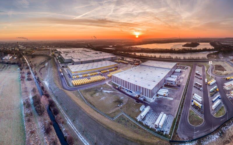 Amazon distribution center royalty free stock image