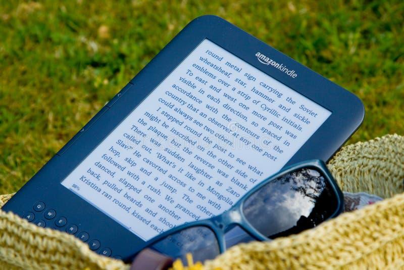 Amazon Kindle E-Reader royalty free stock photos