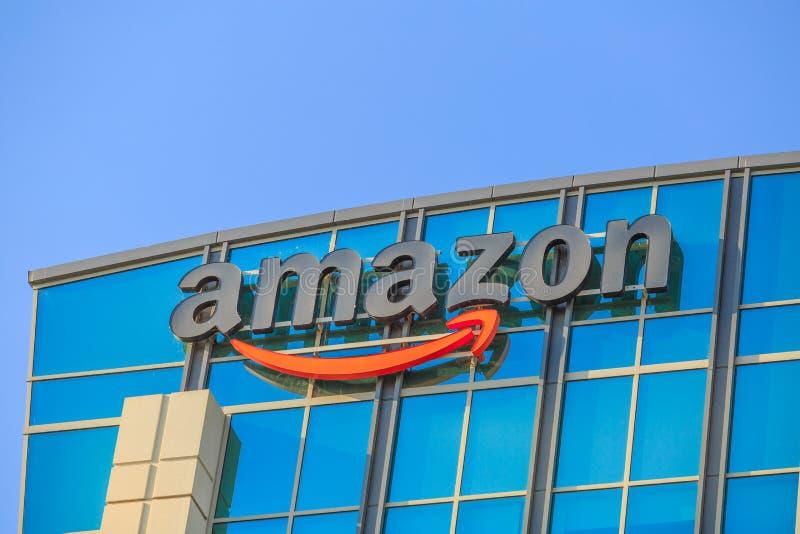 Amazon Logo California royalty free stock photo