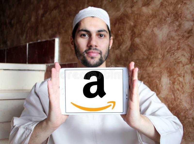 Amazon logo stock image
