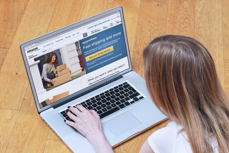 Amazon Prime royalty free stock photos