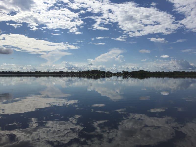 Amazon reflections stock photo