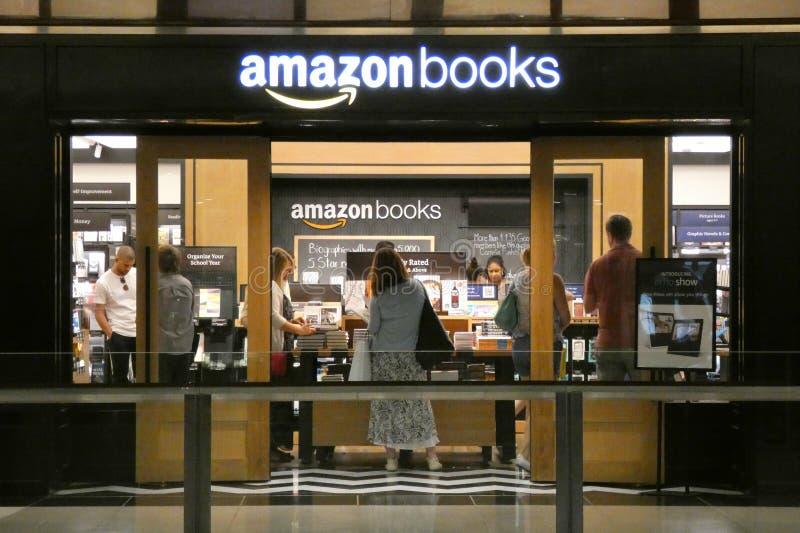 Amazonas-Bücher lizenzfreies stockfoto