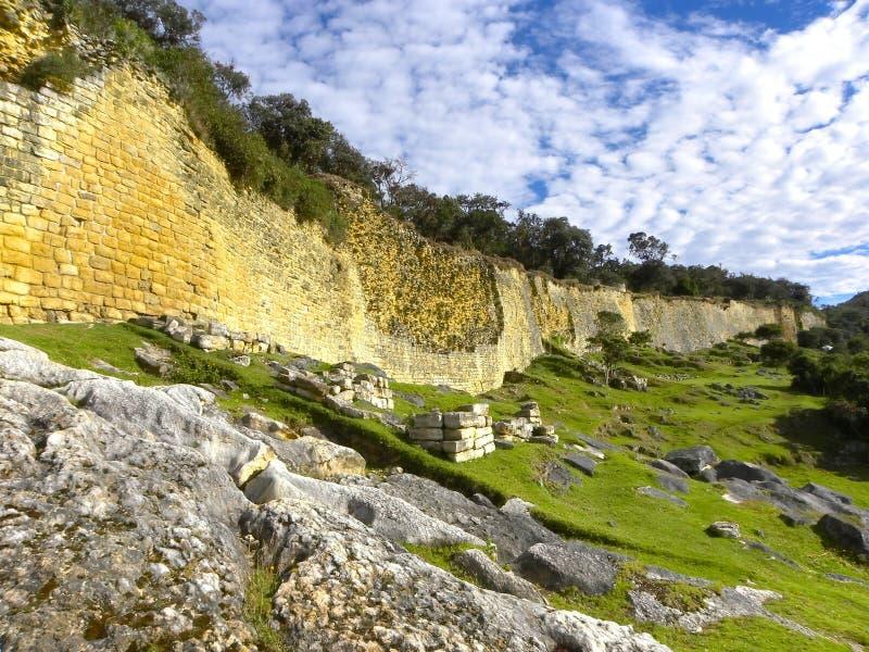 amazonas chachapoyas forteczny kuelap Peru fotografia stock