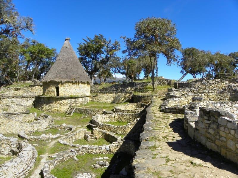 amazonas chachapoyas forteczny kuelap Peru zdjęcia stock