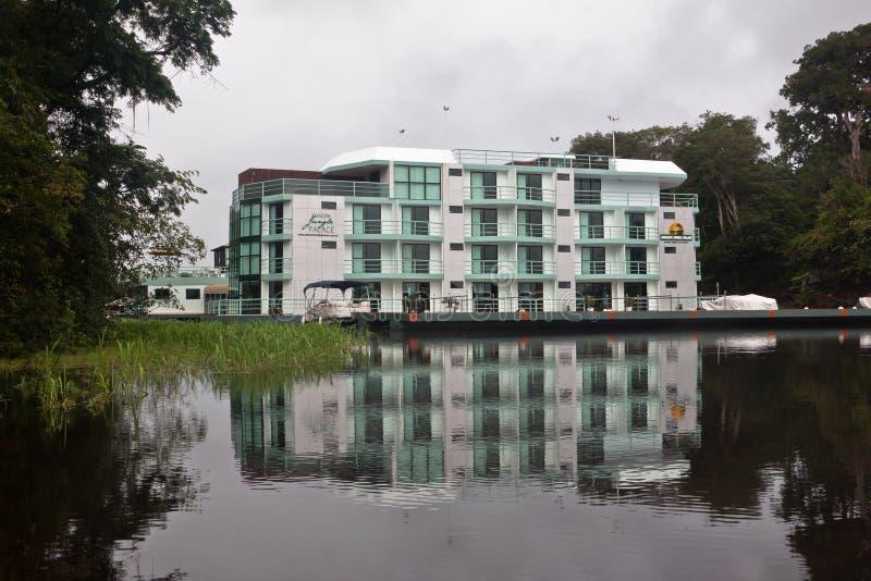 Amazonas-Dschungel-Palast-Hotel Manaus Brasilien stockfotografie