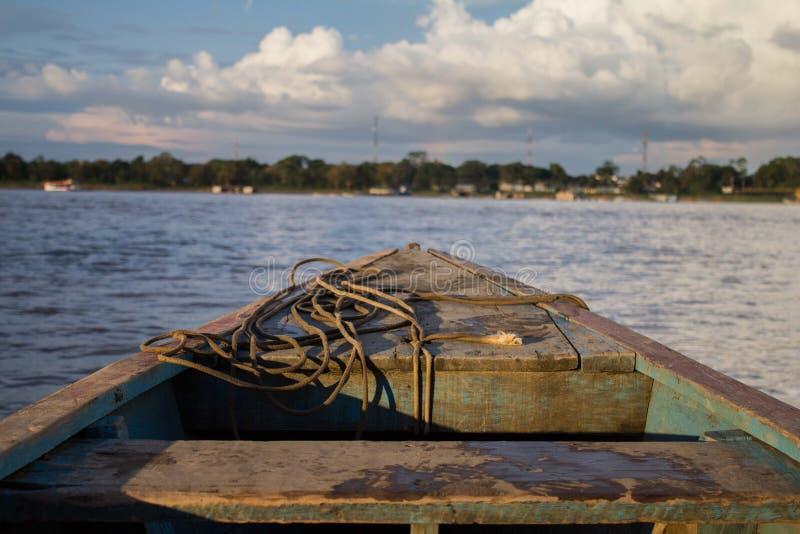 Amazonas Kolumbien stockbild