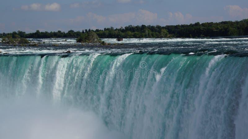 Amazonas Niagara Falls Waterfalls royaltyfri fotografi