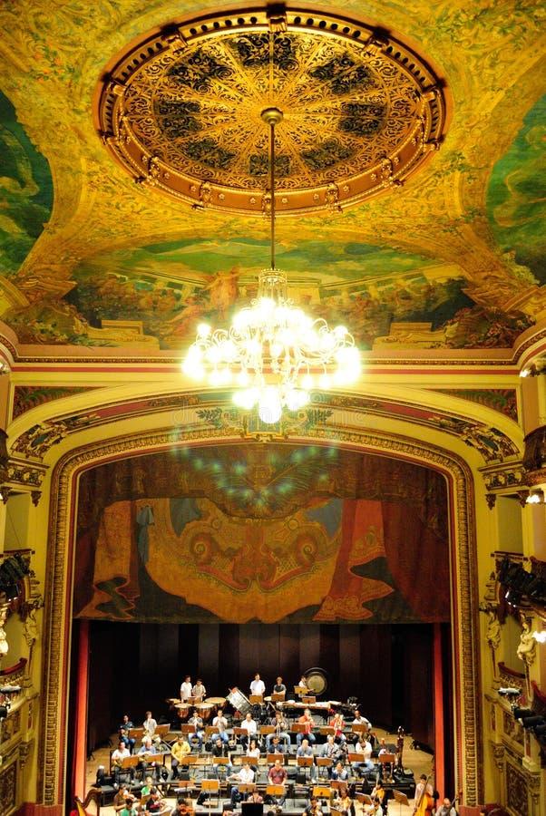 Amazonas teatr obrazy royalty free