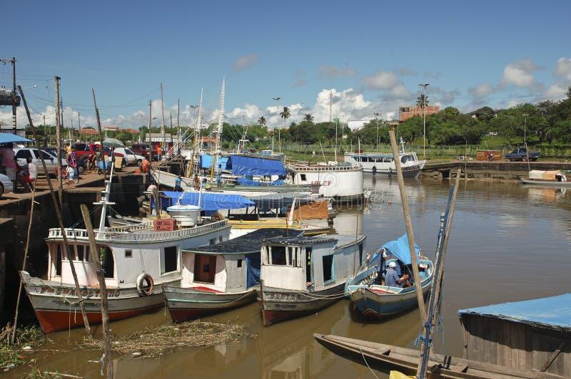 amazonia macapa port zdjęcie stock
