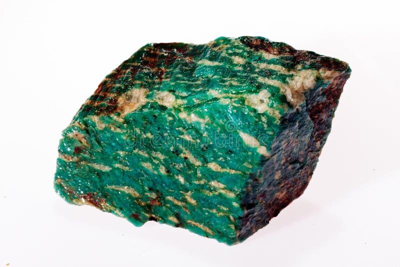amazonit do verde azul imagens de stock royalty free