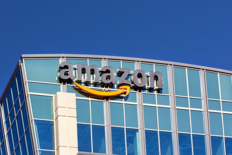 Amazonka budynek obrazy royalty free