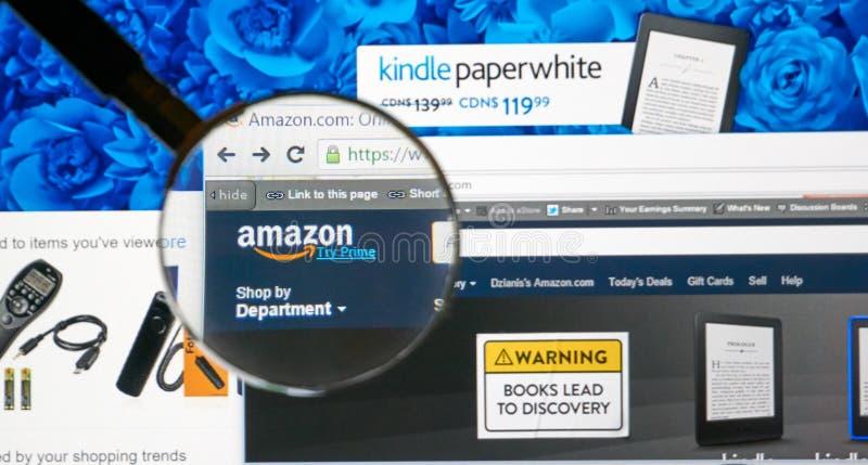 Amazonka na sieci zdjęcia royalty free