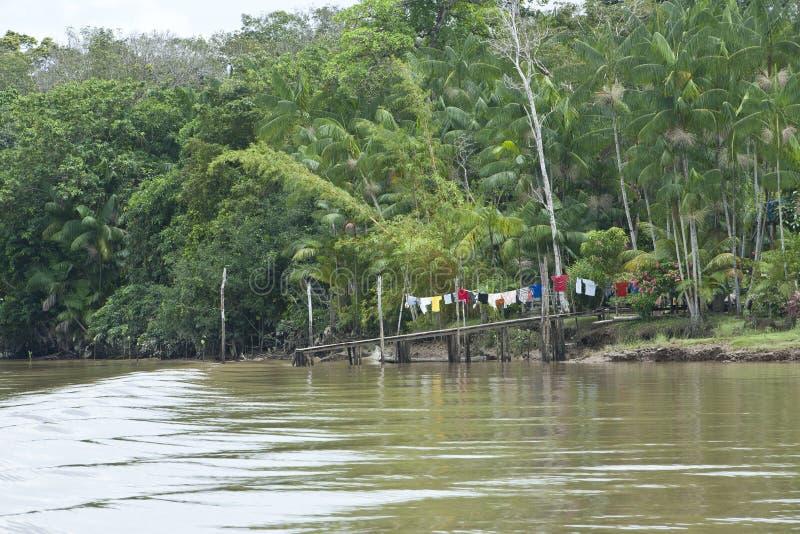 Amazonka - pralnia na Gangplank zdjęcia royalty free