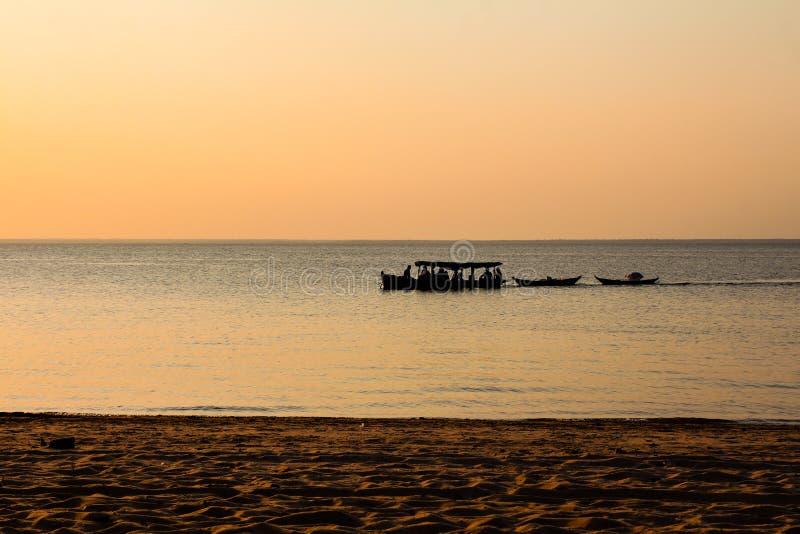 Amazonki Towboat fotografia stock