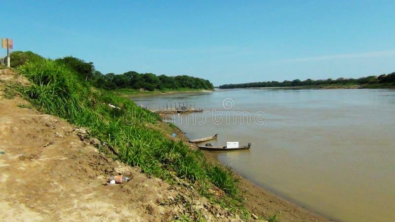 Amazonriverboat royaltyfria foton