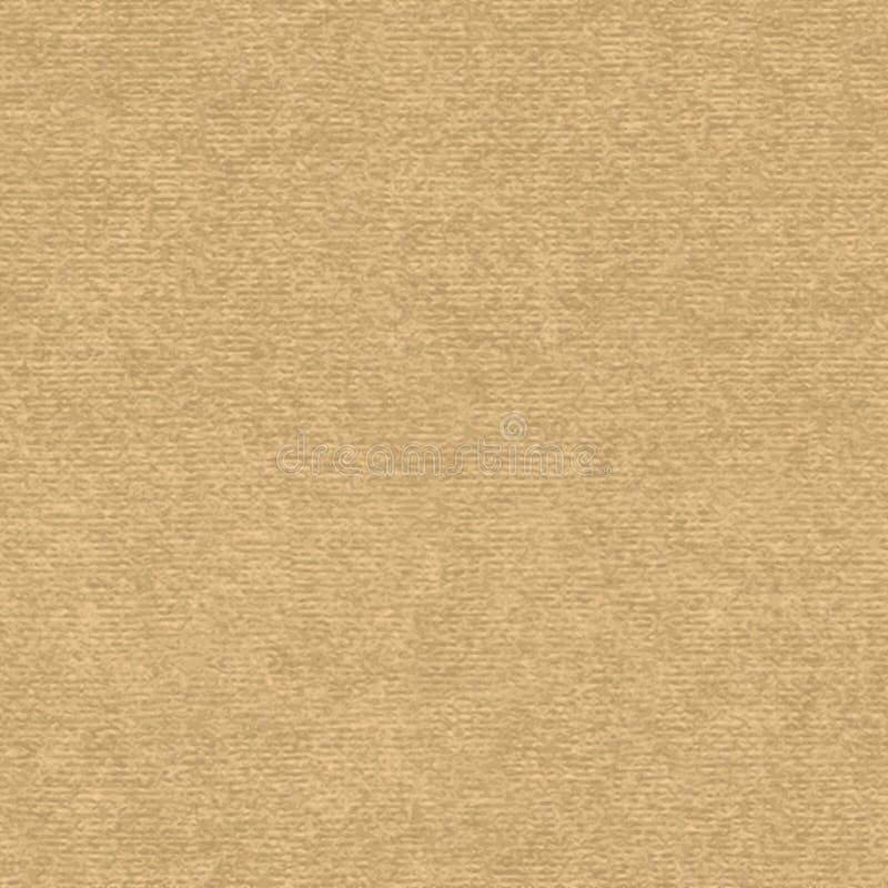 Ambachtdocument naadloze vectortextuur stock illustratie