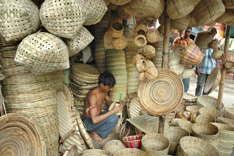 Ambachten in India stock fotografie