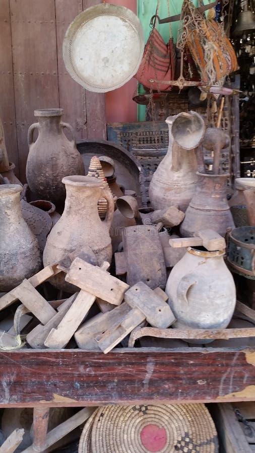 Ambachten in Marokko stock fotografie
