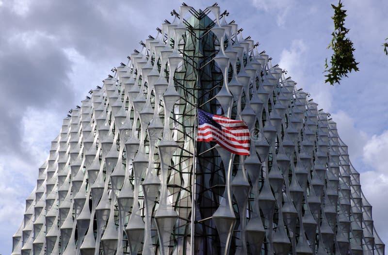 Ambasciata degli Stati Uniti fotografia stock libera da diritti