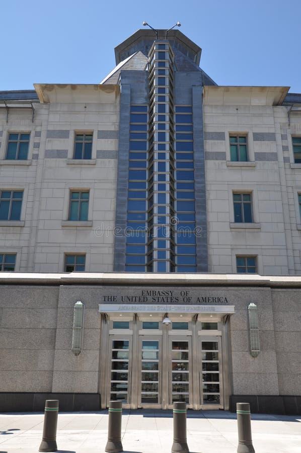 Ambasciata degli Stati Uniti in Ottawa fotografie stock libere da diritti