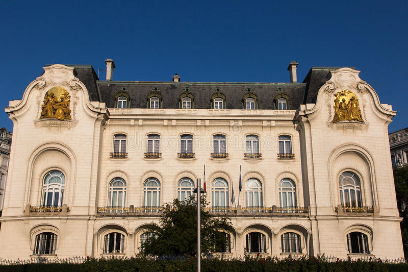 Ambasciata francese a Vienna fotografie stock