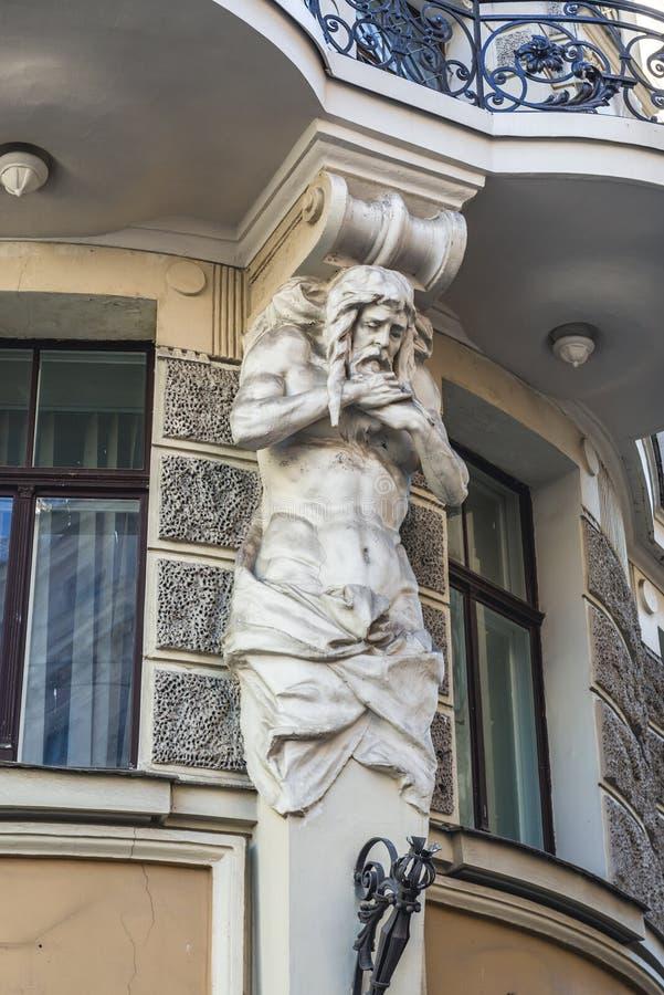 Ambasciata a Riga immagine stock