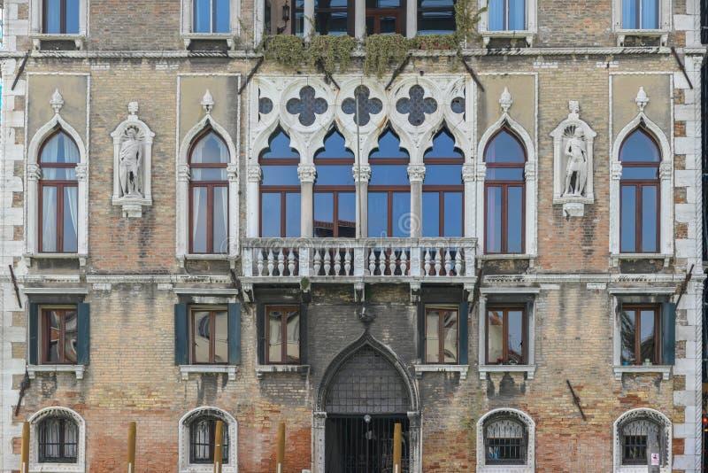 ` Ambasciatore - Venezia, Italia del dell di Loredan del palazzo fotografie stock