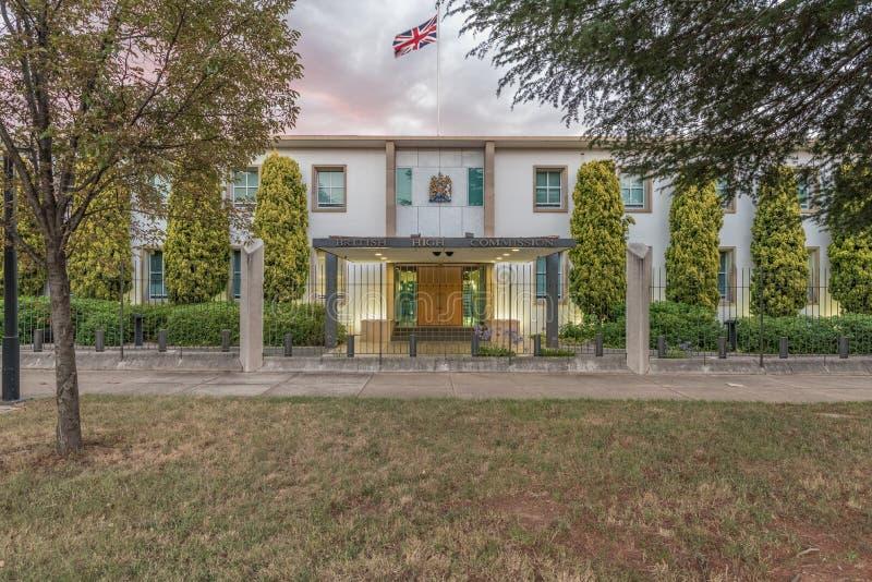 Ambassade britannique, Canberra, Australie photographie stock libre de droits