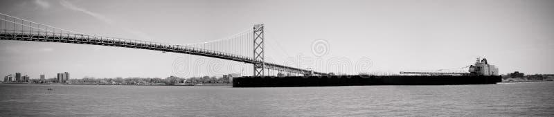 ambassador bridżowy Detroit Lawrence świętego seaway zdjęcia royalty free