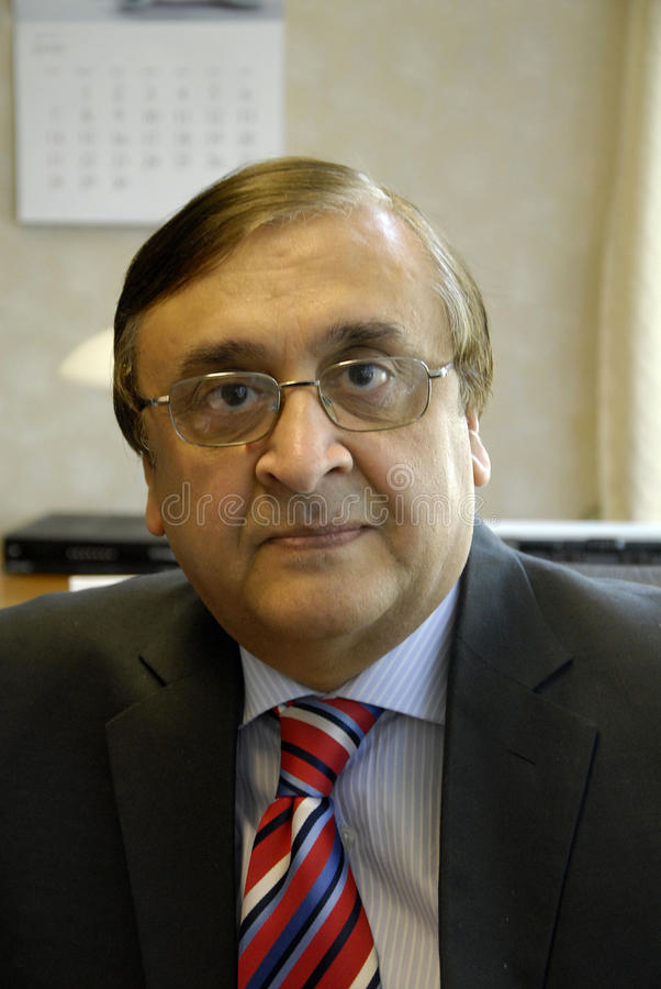 AMBASSADOR MASROOR AHMED JUNEJO. Hellerup/COPENAHGEN /DENMARK 25 June 2015_ H.E.Ambassaor Mr.Masrror Ahmed Junejo of Pakistan new amabssador to Denmark Embassry stock photography