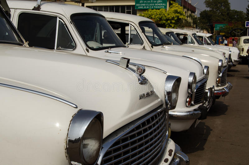 Download Ambassador Taxis, Hyderabad Editorial Photography - Image: 29596462