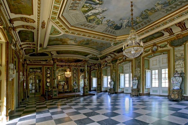 ambassadors sala krajowy pałac queluz zdjęcie stock