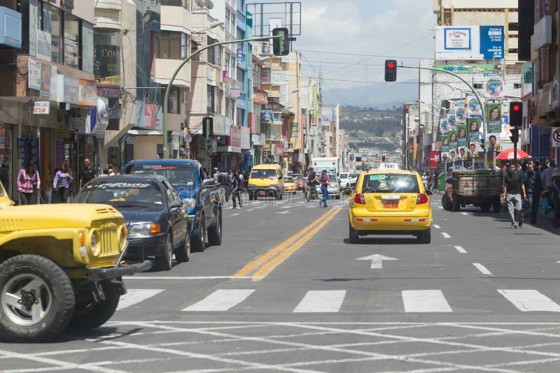 Ambato Ecuador royaltyfri fotografi