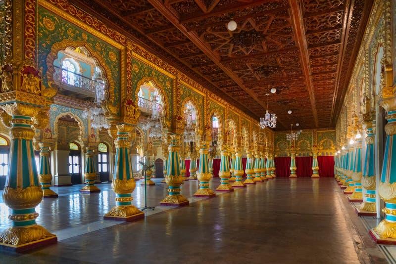 Ambavilasa Hall, königlicher Mysore-Palast von Indien stockfoto