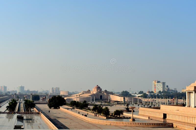 Ambedkar herdenkingspark, Lucknow India stock fotografie