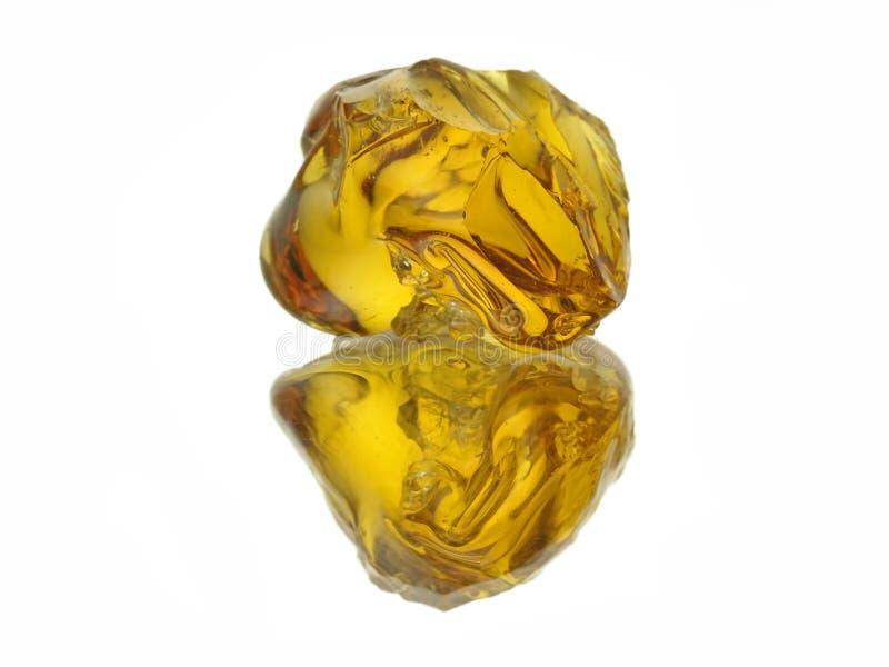 Amber royalty-vrije stock afbeelding
